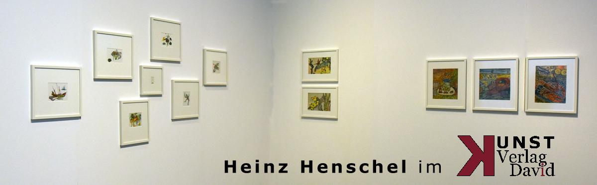 Heinz Henschel im Kunstverlag David